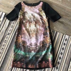 Ted Baker Atheena Magical Tree Dress Size 2 (US 6)